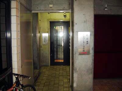 こちらが2号エレベーター